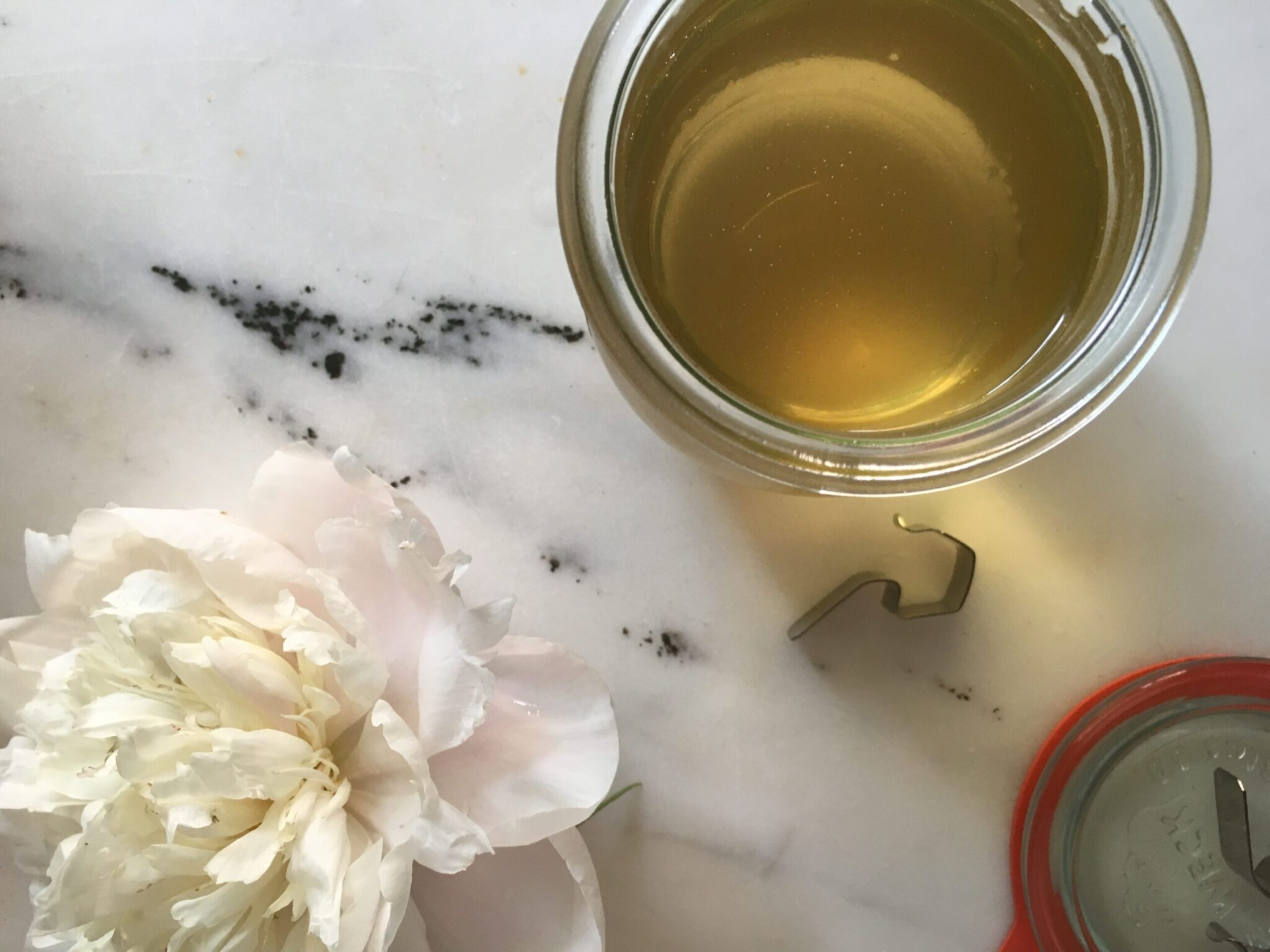 PEONY FLOWER SIMPLE SYRUP
