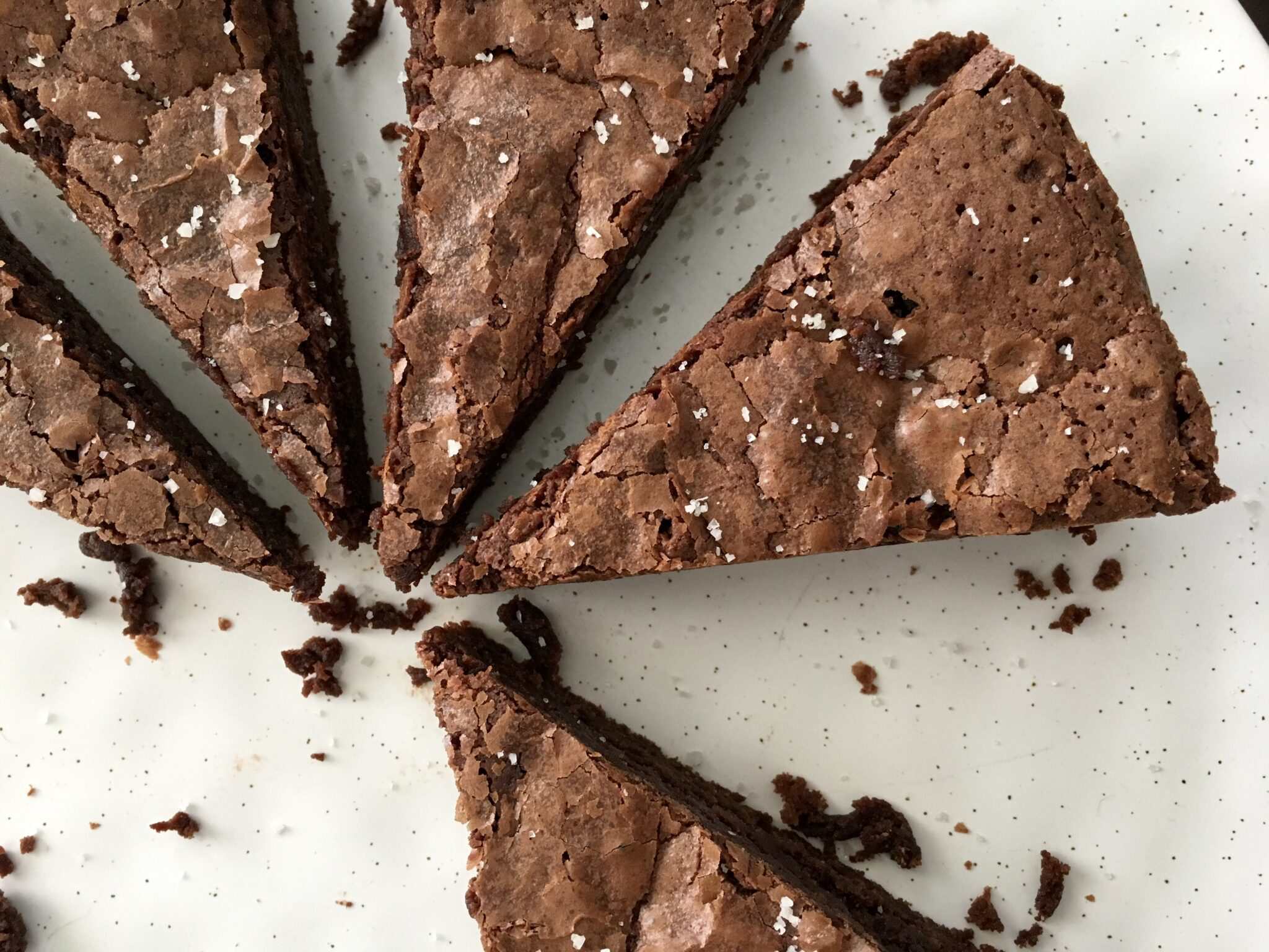 FRENCH SALTED BROWNIES