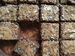 candice hunsinger french salted brownies
