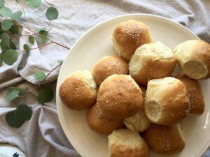 candice hunsinger brioche dinner rolls